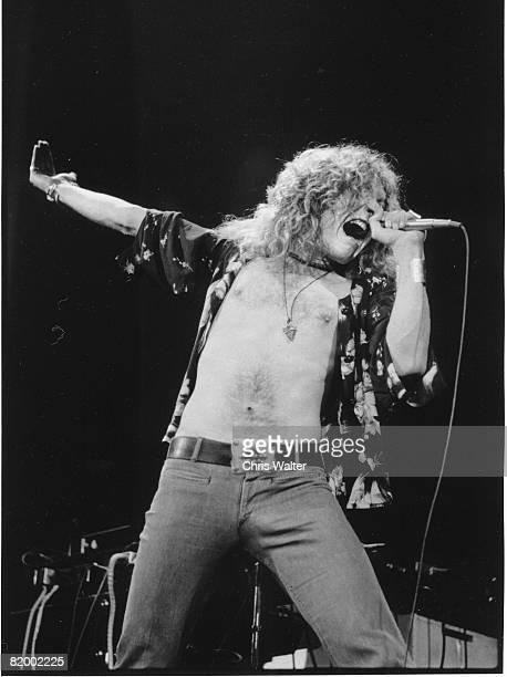 Led Zeppelin late 1970s Robert Plant