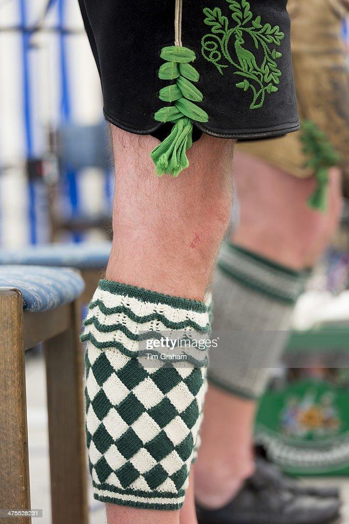 Lederhosen at Bavarian Festival in Germany
