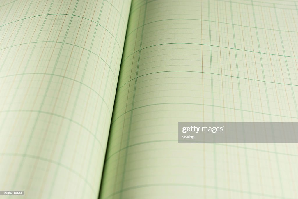 Ledger or Account Book : Stock Photo