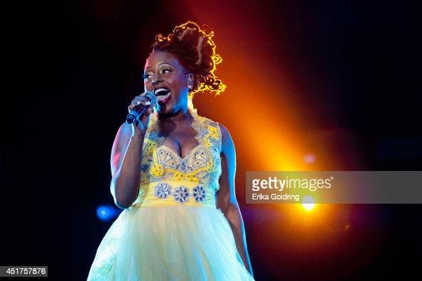 Ledisi peforms during the 2014 Essence Music Festival on July 5 2014 in New Orleans Louisiana