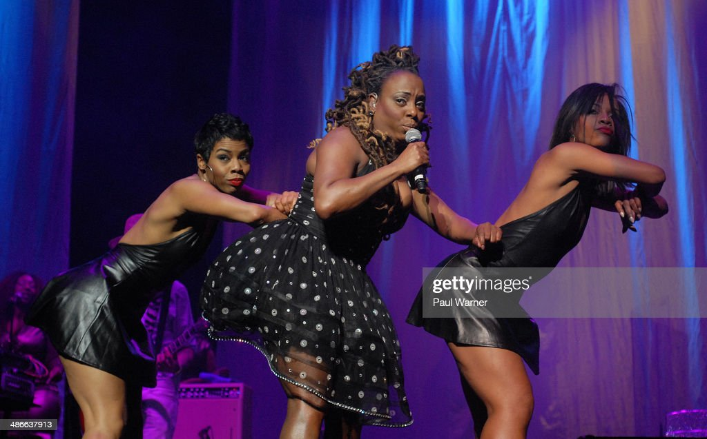Ledisi performs in concert at Detroit Opera House on April 24 2014 in Detroit Michigan