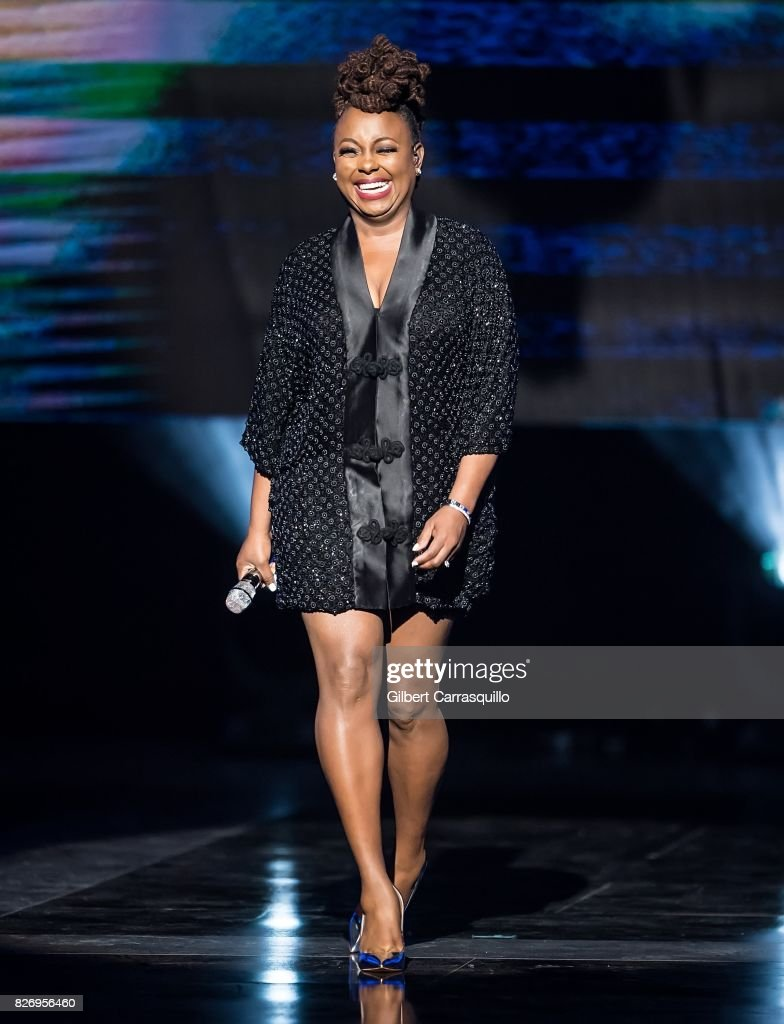 Ledisi performs onstage during Black Girls Rock! 2017 at New Jersey Performing Arts Center on August 5, 2017 in Newark, New Jersey.