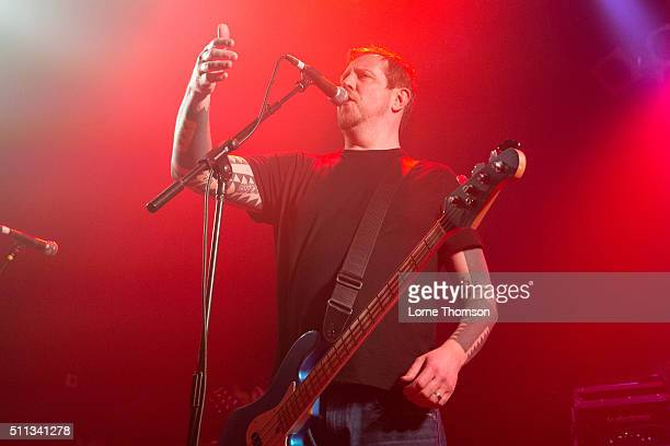 Lee Batsford of Snuff performs at Electric Ballroom on February 19 2016 in London England