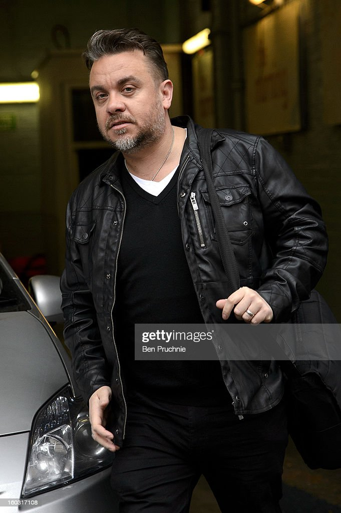 Lee Boardman sighted departing ITV Studios on January 29, 2013 in London, England.
