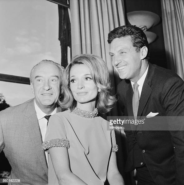 Lee Bouvier actress sister of Jacqueline Kennedy Onassis pictured at The Savoy Hotel in London 19th September 1967 Pictured with co stars George...