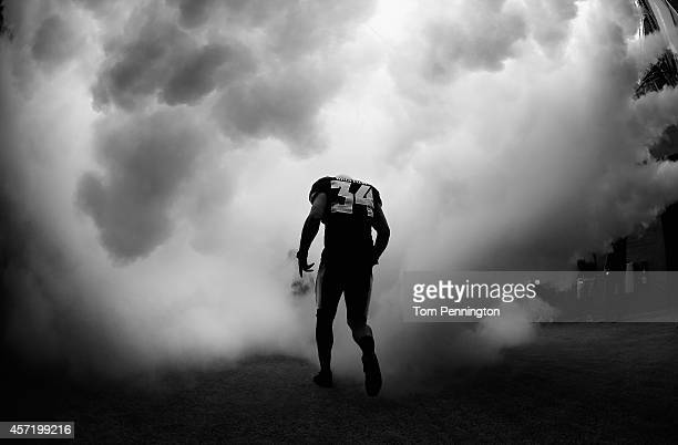 Lee Bristow of the Baylor Bears walks on the field before taking on the TCU Horned Frogs at McLane Stadium on October 11 2014 in Waco Texas