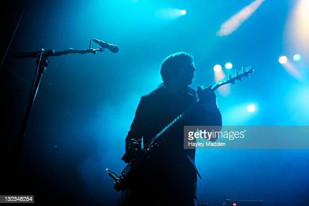 Lee Burgess of The Rifles performs on stage at HMV Forum on November 11 2011 in London United Kingdom