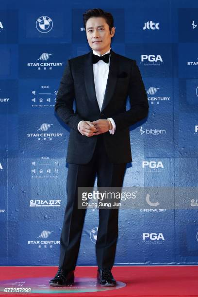 Lee ByungHun attends the 53rd Baeksang Arts Awards at Coex on May 3 2017 in Seoul South Korea
