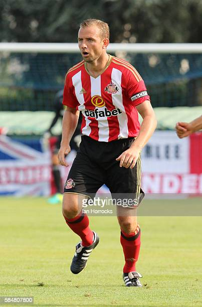 Lee Cattermole of Sunderland during the preseason friendly match between Sunderland AFC and Montpellier HSC at Stade Jacques Forestier on July 30...