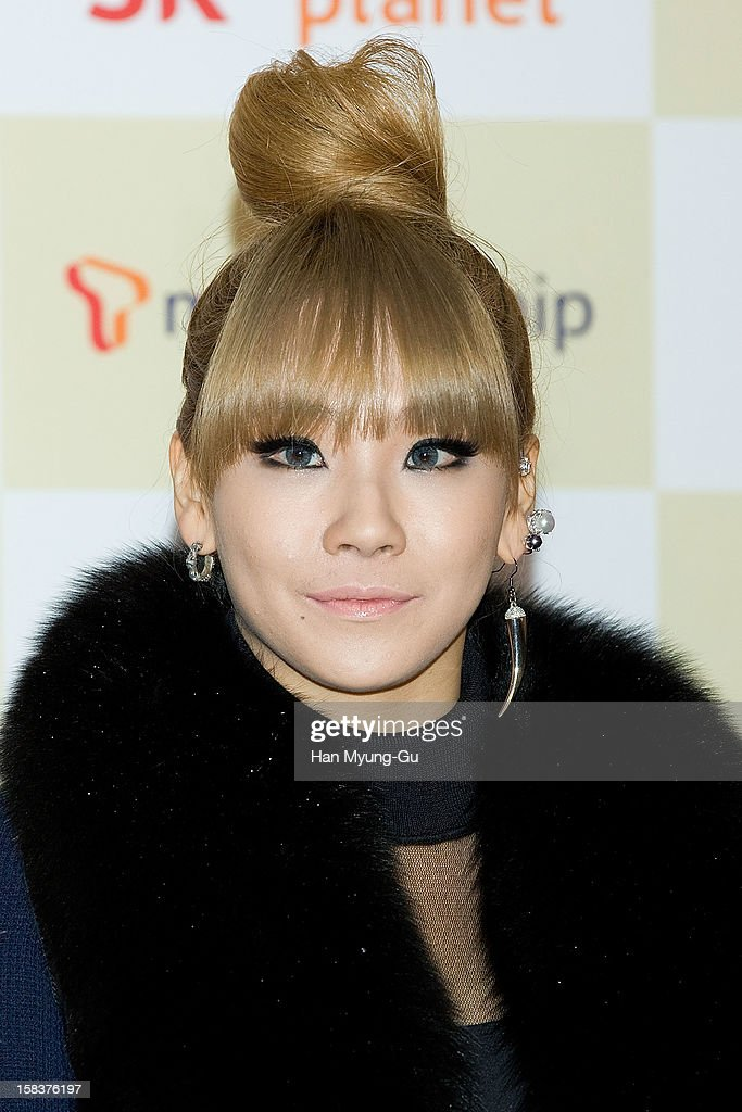 Lee Chae-Rin (CL) of South Korean girl group 2NE1 arrives at the 2012 Melon Music Awards at Olympic Gymnasium on December 14, 2012 in Seoul, South Korea.