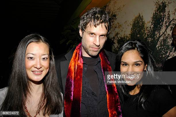 Lee Chris Snyder and Sonia Chadha attend TOMMY HILFIGER Fall 2007 Collection AFTERPARTY at Bungalow 8 on February 9 2007 in New York City