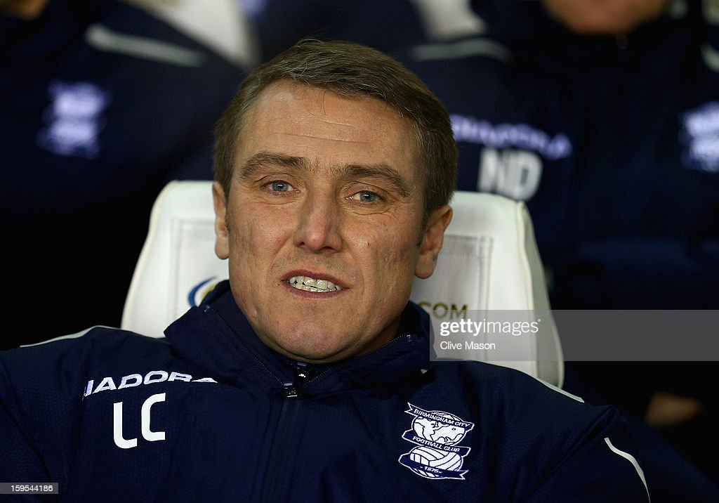 <a gi-track='captionPersonalityLinkClicked' href=/galleries/search?phrase=Lee+Clark+-+English+Soccer+Player&family=editorial&specificpeople=15063646 ng-click='$event.stopPropagation()'>Lee Clark</a> of Birmingham City during the FA Cup with Budweiser Third Round Replay match between Birmingham City and Leeds United at St Andrews on January 15, 2013 in Birmingham, England.
