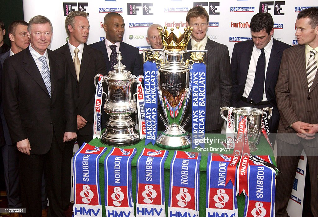 Lee Clark Sir Alex Ferguson Warren Barton Les Ferdinand Ian Holloway Teddy Sheringham Mike Newell and Shay Given