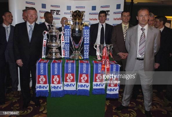 Lee Clark Warren Barton Sir Alex Ferguson Les Ferdinand Ian Holloway Mike Newell Shay Given Terry McDermott and Alan Shearer