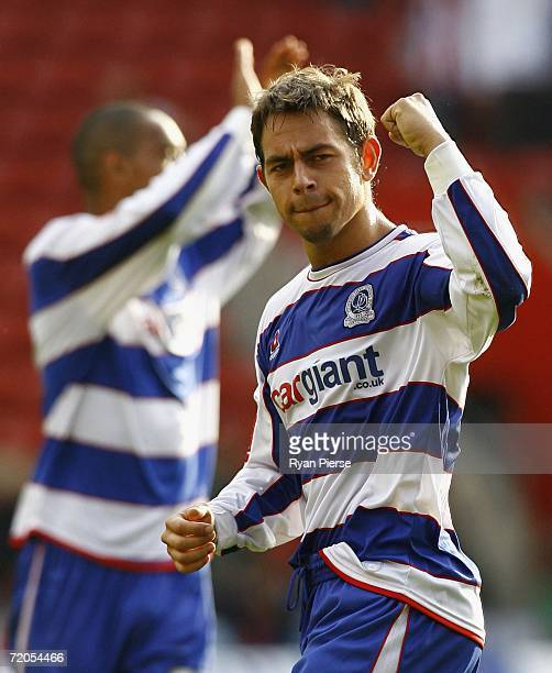 Lee Cook of Queens Park thanks the fans after the Coca Cola Championship match between Southampton and Queens Park Rangers at St Mary's Stadium on...