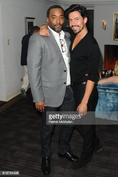 Lee Daniels and attend Bret Easton Ellis to celebrate the publication of his new novel IMPERIAL BEDROOMS at Penthouse on June 10 2010 in Chateau...
