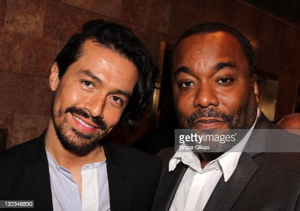 Lee Daniels and boyfriend pose...