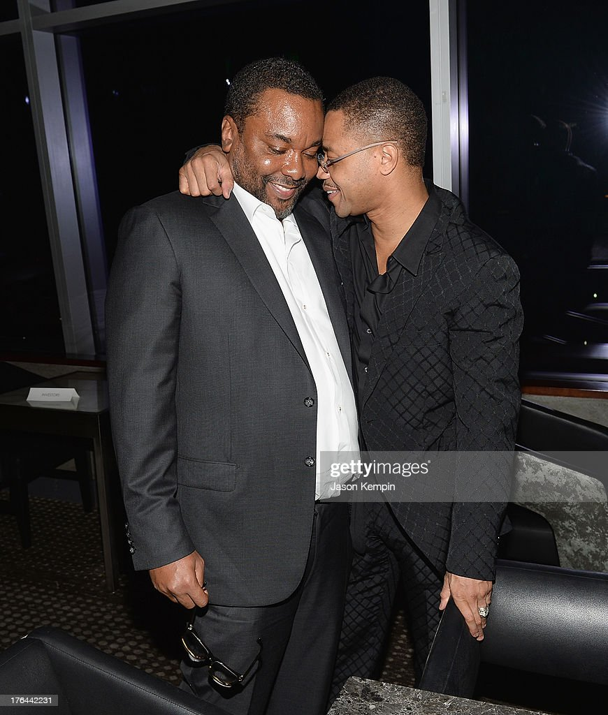 Lee Daniels and Cuba Gooding Jr. attend the Los Angeles premiere of 'Lee Daniels' The Butler' at Regal Cinemas L.A. Live on August 12, 2013 in Los Angeles, California.