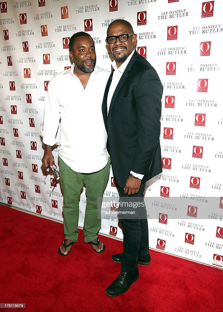 Lee Daniels and Forest Whitaker attend the Lee Daniels' 'The Butler' Special Screening at Hearst Tower on July 31, 2013 in New York City.