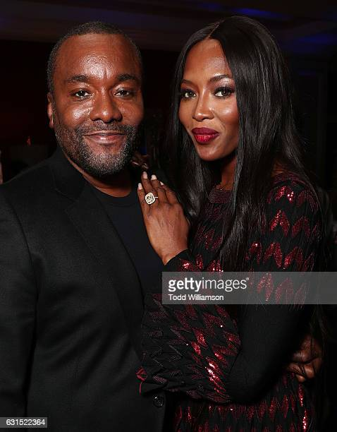 Lee Daniels and Naomi Campbell attend the 2017 Winter TCA Tour FOX AllStar Party at Langham Hotel on January 11 2017 in Pasadena California