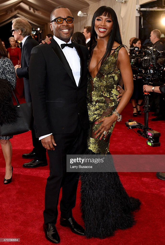 Lee Daniels and Naomi Campbell attend the 'China Through The Looking Glass' Costume Institute Benefit Gala at the Metropolitan Museum of Art on May 4...
