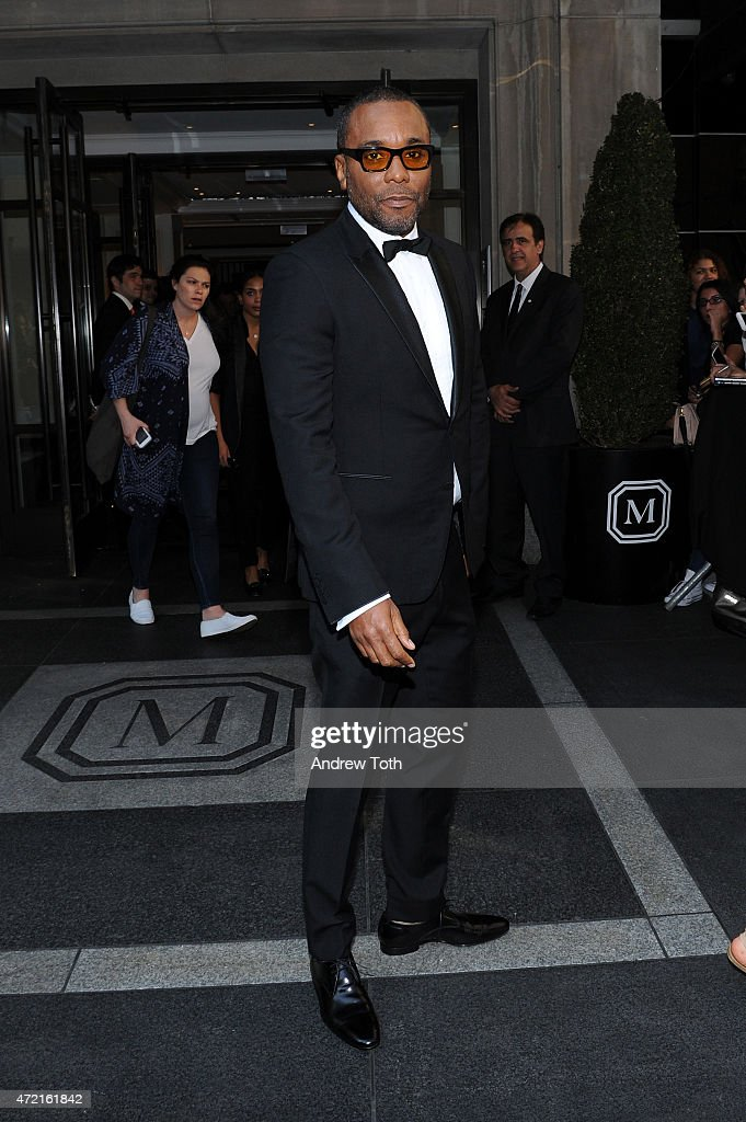 Lee Daniels departs The Mark Hotel for the Met Gala at the Metropolitan Museum of Art on May 4 2015 in New York City