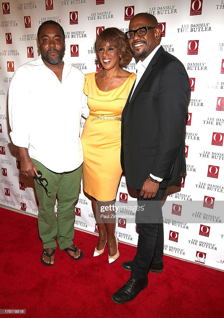 Lee Daniels, Gayle King and Forest Whitaker attend the Lee Daniels' 'The Butler' Special Screening at Hearst Tower on July 31, 2013 in New York City.