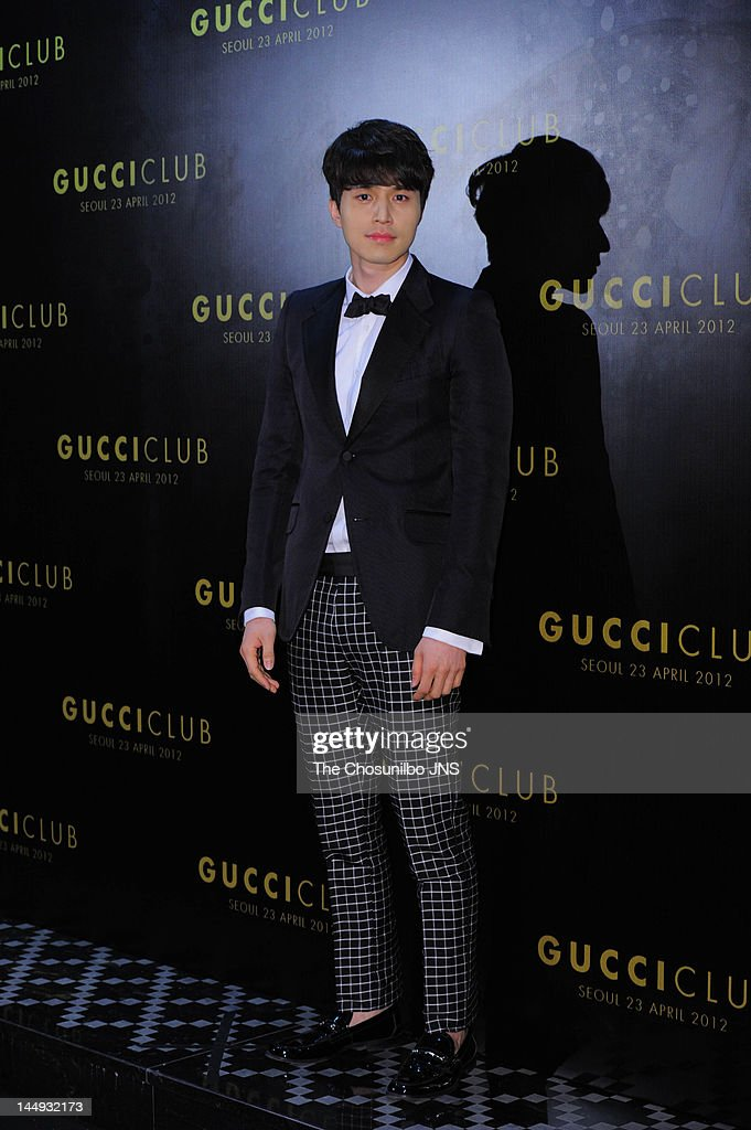 <a gi-track='captionPersonalityLinkClicked' href=/galleries/search?phrase=Lee+Dong-Wook&family=editorial&specificpeople=4347847 ng-click='$event.stopPropagation()'>Lee Dong-Wook</a> attends the 'Gucci Club' Party for celebrating the renewal of Gucci Seoul Flagship Store on April 23, 2012 in Seoul, South Korea.