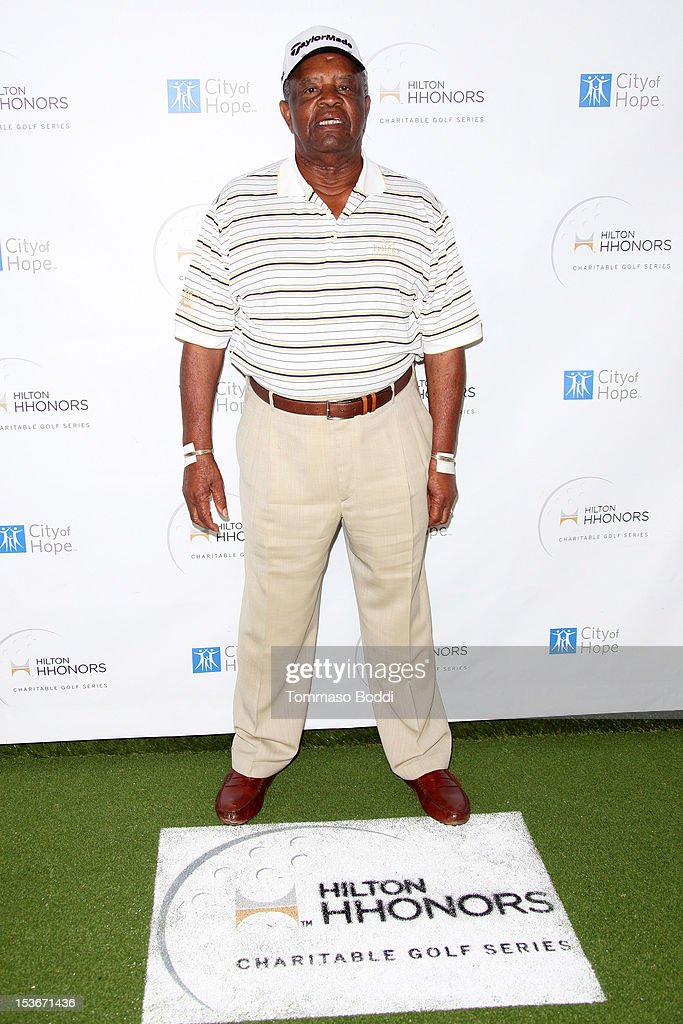 Lee Elder attends the 6th Annual Hilton HHonors Charitable Golf Series held at The Riviera Country Club on October 8, 2012 in Pacific Palisades, California.