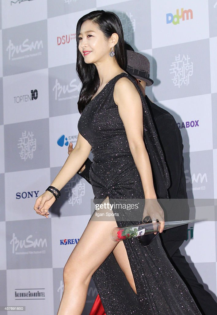Lee Eun-Woo arrives for the opening ceremony of the 19th Busan International Film Festival at Busan Cinema Center on October 2, 2014 in Busan, South Korea.