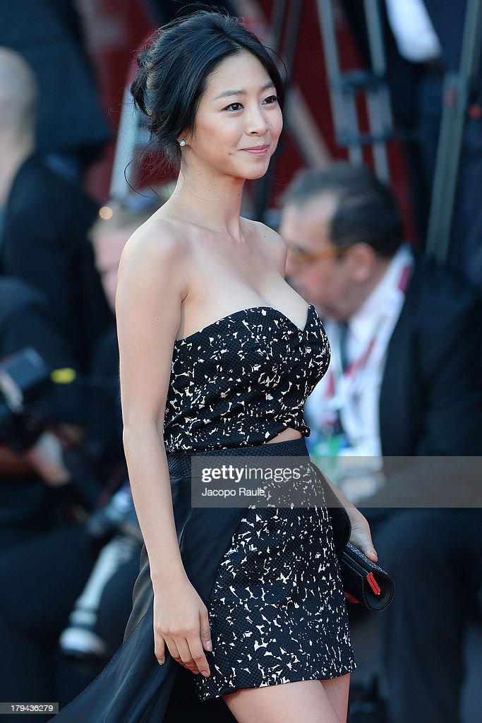 Lee Eun-Woo attends 'Under The Skin' Premiere during the 70th Venice International Film Festival at Palazzo del Cinema on September 3, 2013 in Venice, Italy.