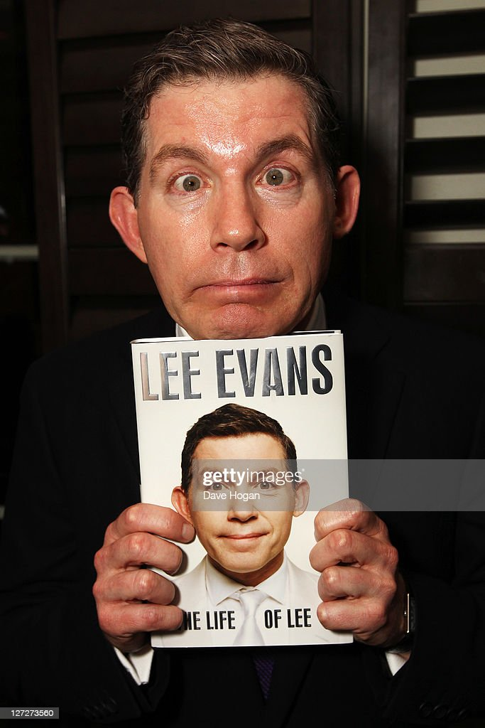 """""""The Life Of Lee"""" By Lee Evans - Book Launch"""