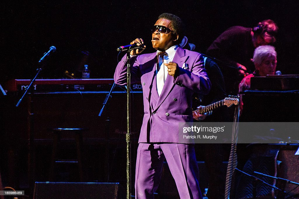 Lee Fields performs at the 18th annual Music Masters series honoring The Rolling Stones at the State Theatre on October 26, 2013 in Cleveland, Ohio.