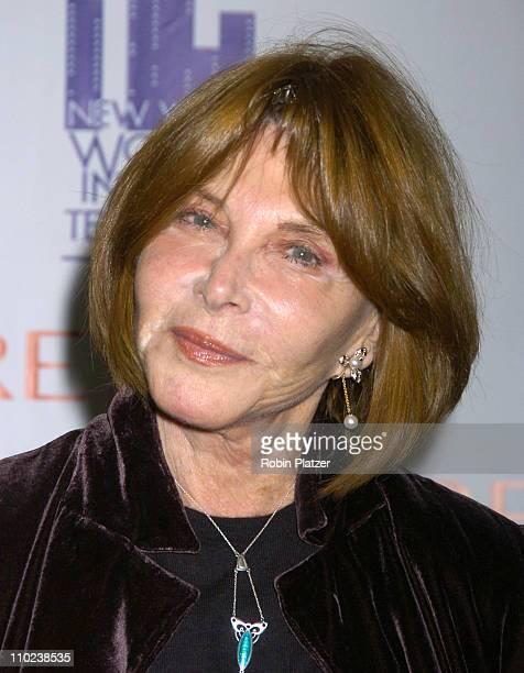 Lee Grant 2004 Muse Award recipient during 2004 Muse Awards Luncheon Arrivals at The New York Hilton Hotel in New York City New York United States