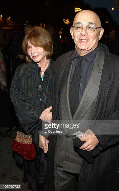Lee Grant and Joseph Feury during Opening Night of 'Sly Fox' on Broadway Arrivals at Ethel Barrymore Theatre in New York City New York United States