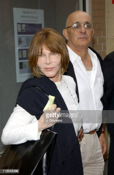 Lee Grant and Joseph Feury during THE WEEK Magazine hosts Premiere of 'The Hunting of the President' Arrivals at Skirball Center for the Performing...