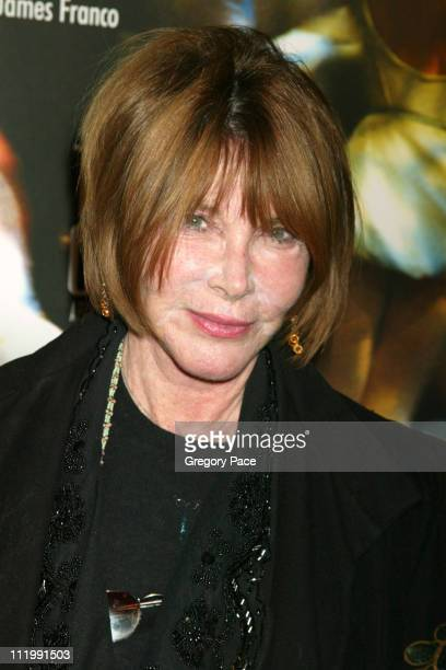 Lee Grant during 'The Company' New York Premiere Inside Arrivals at Paris Theatre in New York City New York United States