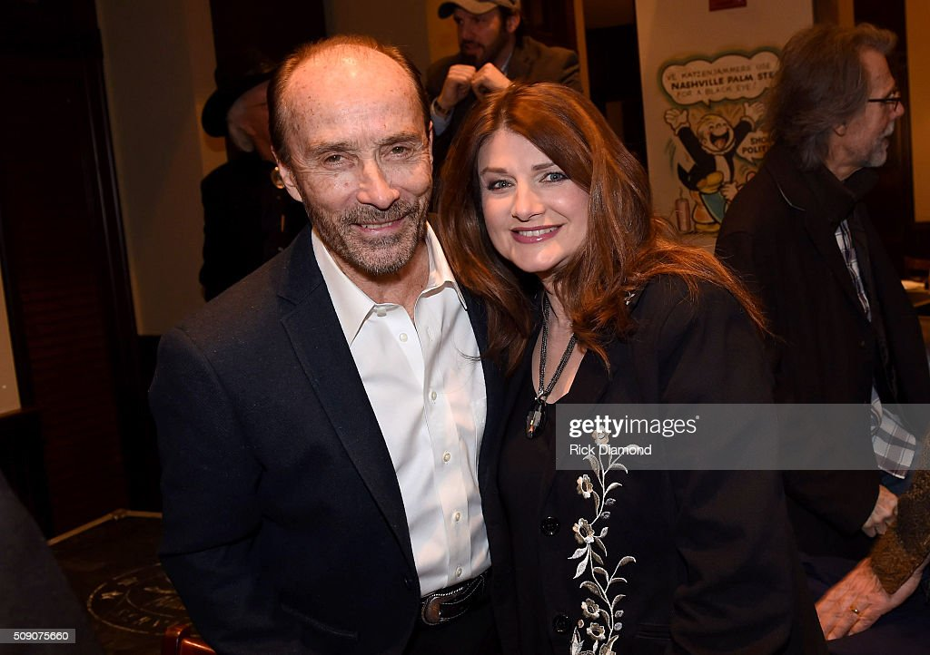 <a gi-track='captionPersonalityLinkClicked' href=/galleries/search?phrase=Lee+Greenwood&family=editorial&specificpeople=892915 ng-click='$event.stopPropagation()'>Lee Greenwood</a> and Sylvia attend the 2nd Annual Legendary Lunch presented by Webster Public Relations and CMA at The Palm Restaurant on February 8, 2016 in Nashville, Tennessee.