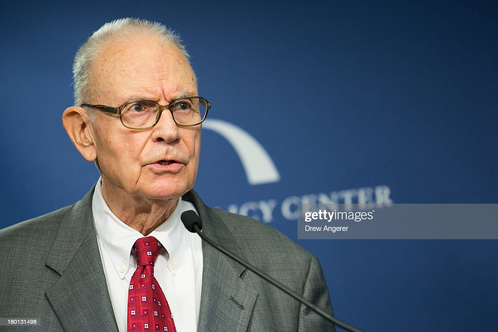 <a gi-track='captionPersonalityLinkClicked' href=/galleries/search?phrase=Lee+Hamilton&family=editorial&specificpeople=210781 ng-click='$event.stopPropagation()'>Lee Hamilton</a>, former Congressman and co-chair of the 9/11 Commission, speaks about terrorism threats at Bipartisan Policy Center offices on September 9, 2013 in Washington, DC. On Monday, the Bipartisan Policy Center released 'Jihadist Terrorism: A Threat Assessment,' detailing and analyzing the types of terror threats the United States is faced with today.