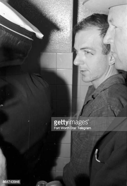Lee Harvey Oswald in police custody in Dallas following assassination of President John F Kennedy on November 22 1963