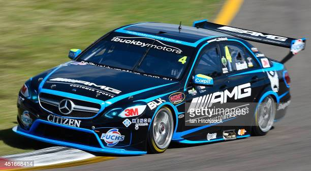 Lee Holdsworth drives the Erebus Motorsport V8 Mercedes during practice for the Townsville 500 which is round seven of the V8 Supercar Championship...