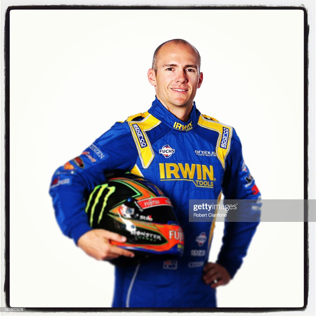 Lee Holdsworth of the Erebus Motorsport V8 Team poses during a V8 Supercars driver portrait session at Eastern Creek on February 15, 2013 in Sydney, Australia.