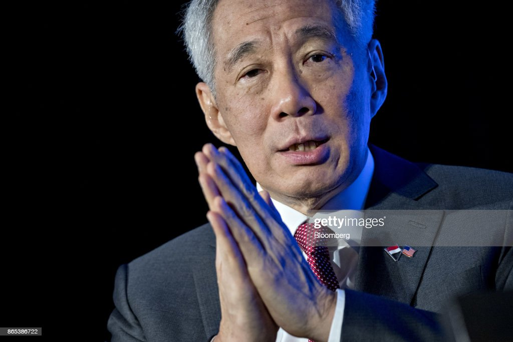 Singapore Prime Minister Lee Hsien Loong Speaks To The Economic Club Of Washington