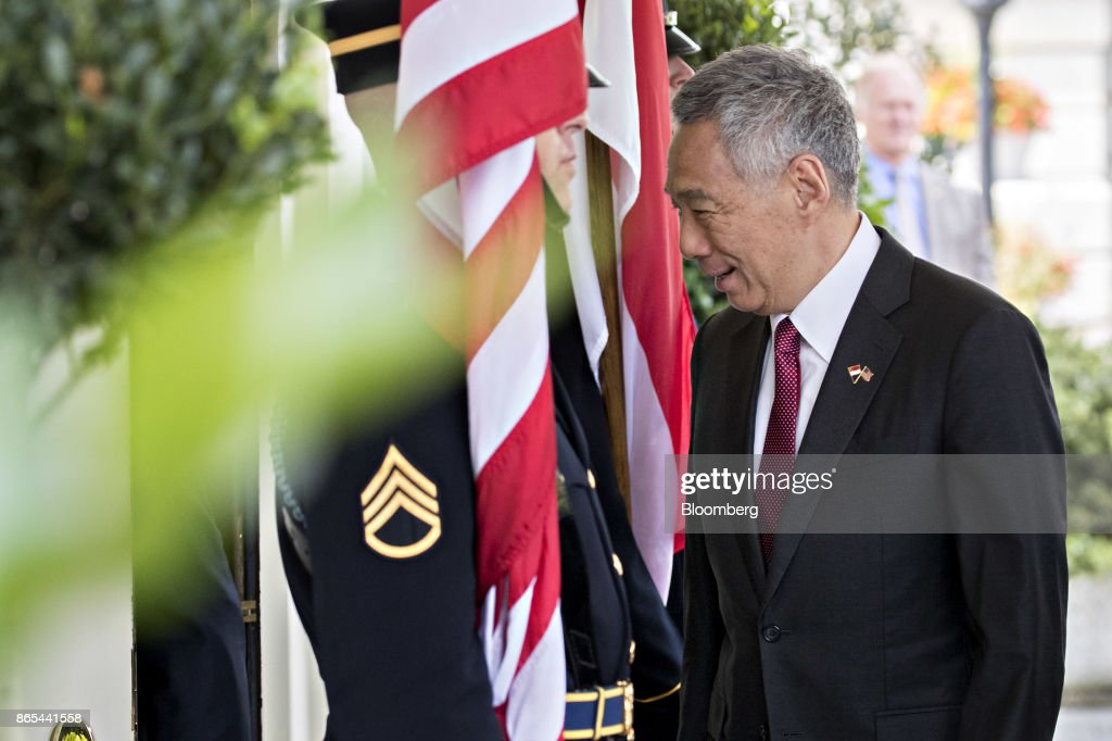 President Trump Hosts Singapore Prime Minister Lee Hsien Loong At The White House