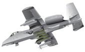 Lee Hulteng illustration of A10 Thunderbolt attack plane