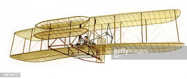 Lee Hulteng illustration of the Wright Flyer