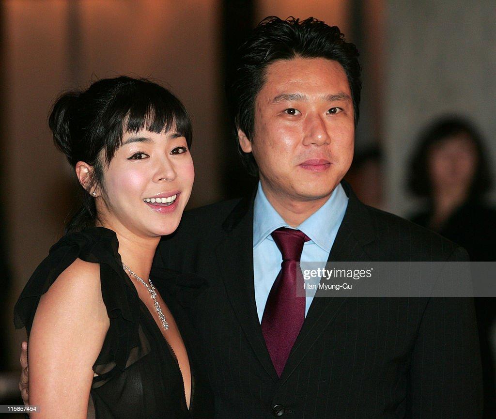 Lee Hye-Young and Lee Sang-Min during Kim Seung-Woo and Kim Nam-Ju Wedding - May 25, 2005 at W Seoul Walkerhill Vister Hall in Seoul, South, South Korea.