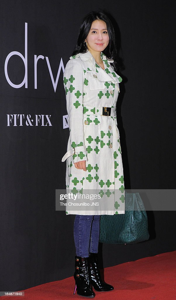 Lee Il-Hwa attends the 'drww.' launch & beauty talk concert at Conrad Hotel on March 28, 2013 in Seoul, South Korea.