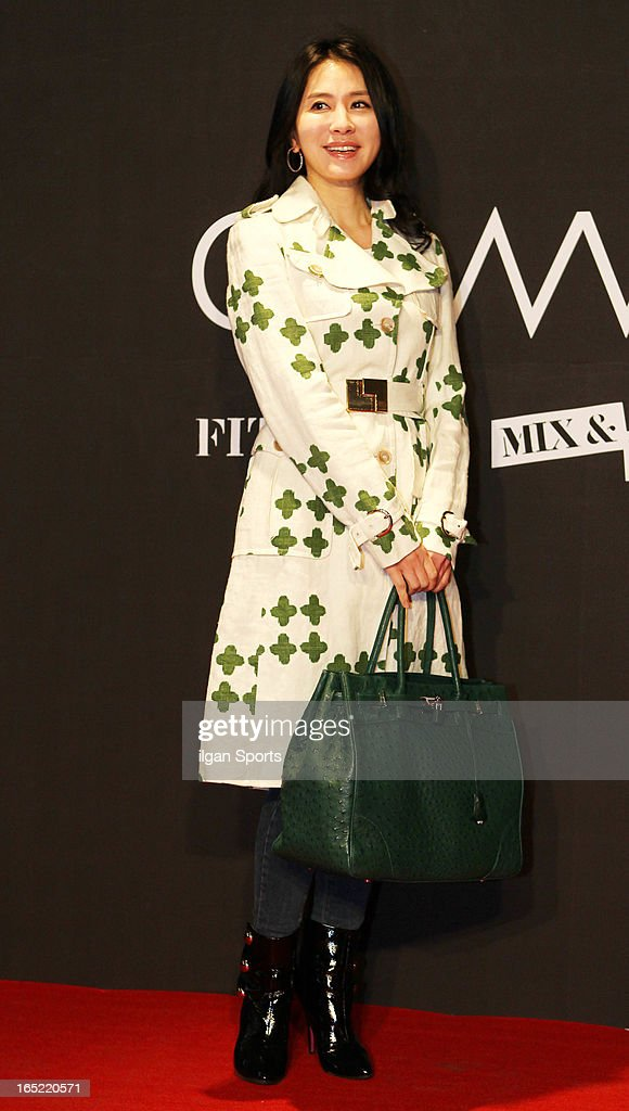 Lee Il-Hwa attends the 'drww.' launch & beauty talk concret at Conrad Hotel on March 28, 2013 in Seoul, South Korea.