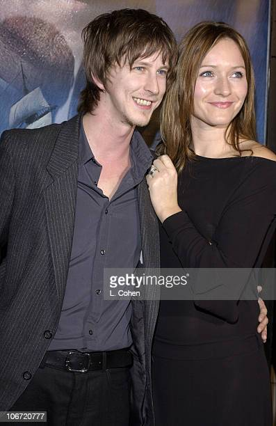 Lee Ingleby and guest during 'Master Commander The Far Side of the World' Los Angeles Premiere Red Carpet at Samuel Goldwyn Theater in Beverly Hills...